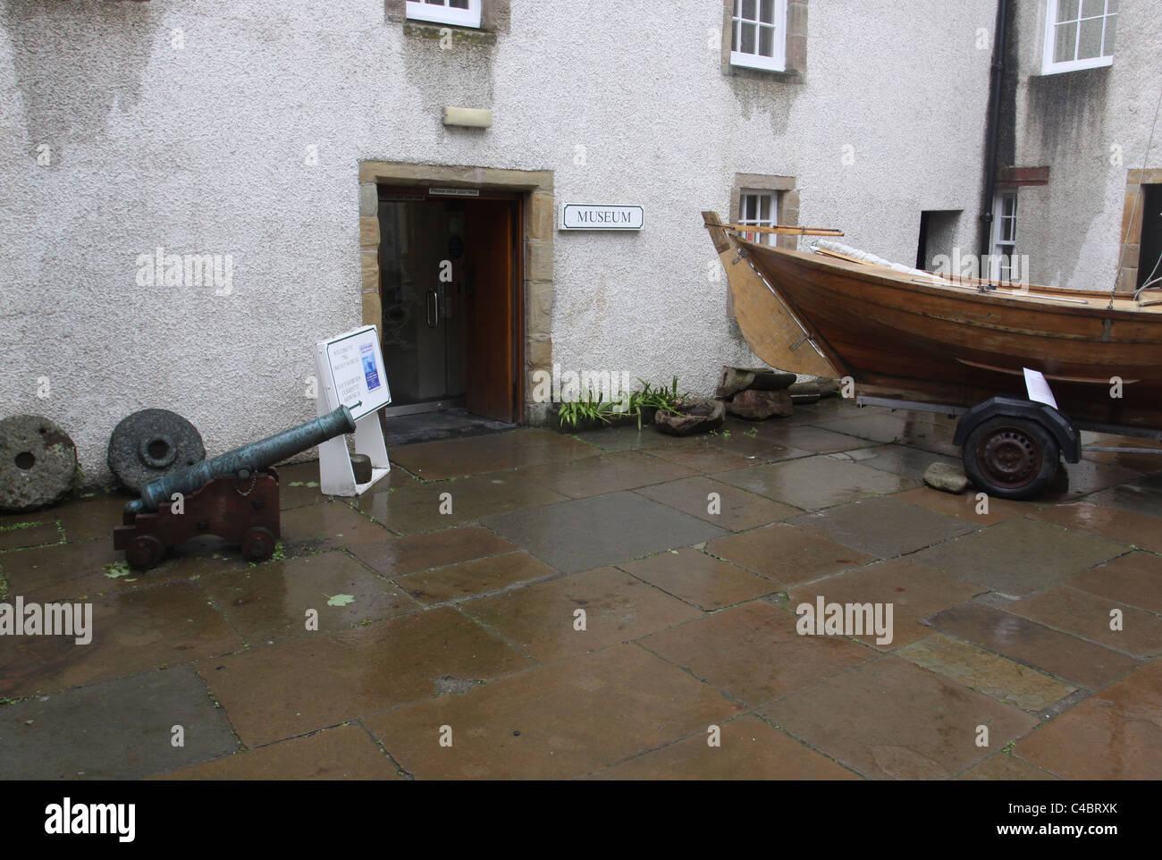 Kirkwall Museum Orkney Scotland May 2011 - Stock Image
