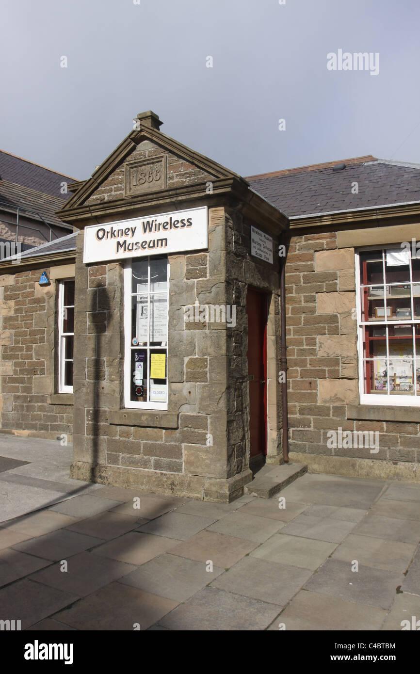 Orkney Wireless Musuem Kirkwall Scotland May 2011 - Stock Image