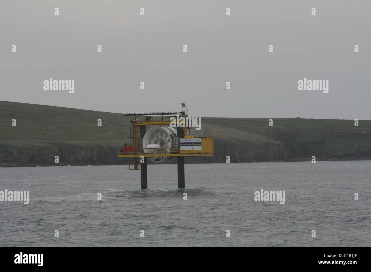 Open Hydro Tidal Turbine Stock Photos & Open Hydro Tidal