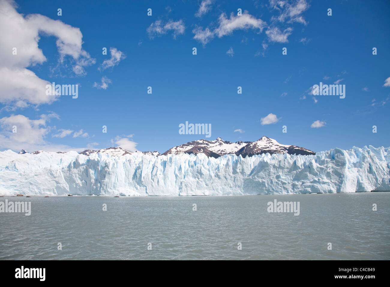 Perito Moreno Glaciar, Patagonia Argentina - Stock Image