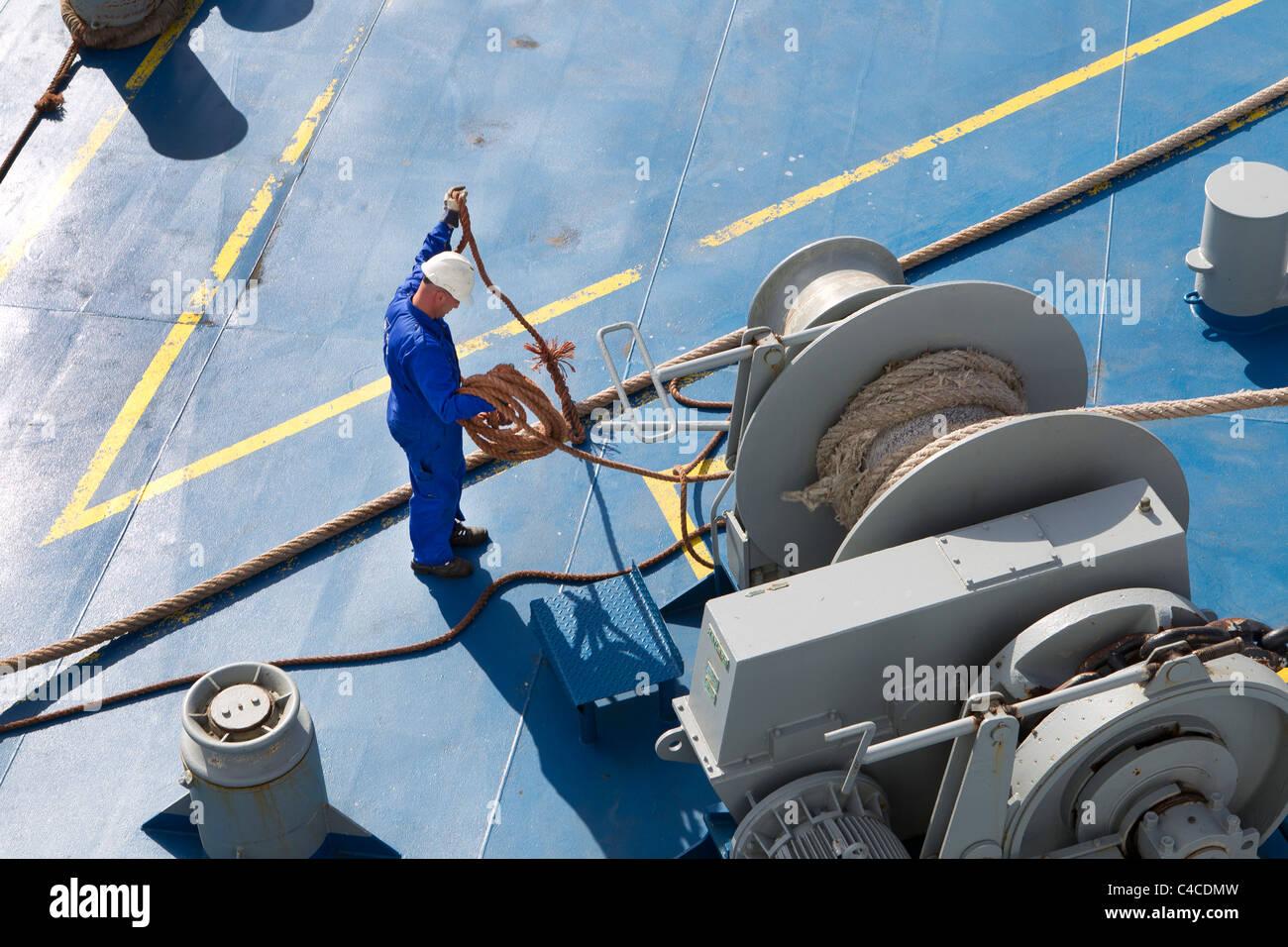 work of seaman