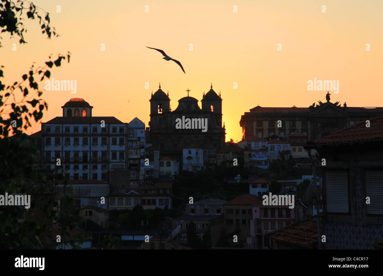 Porto Skyline, Portugal - Stock Image