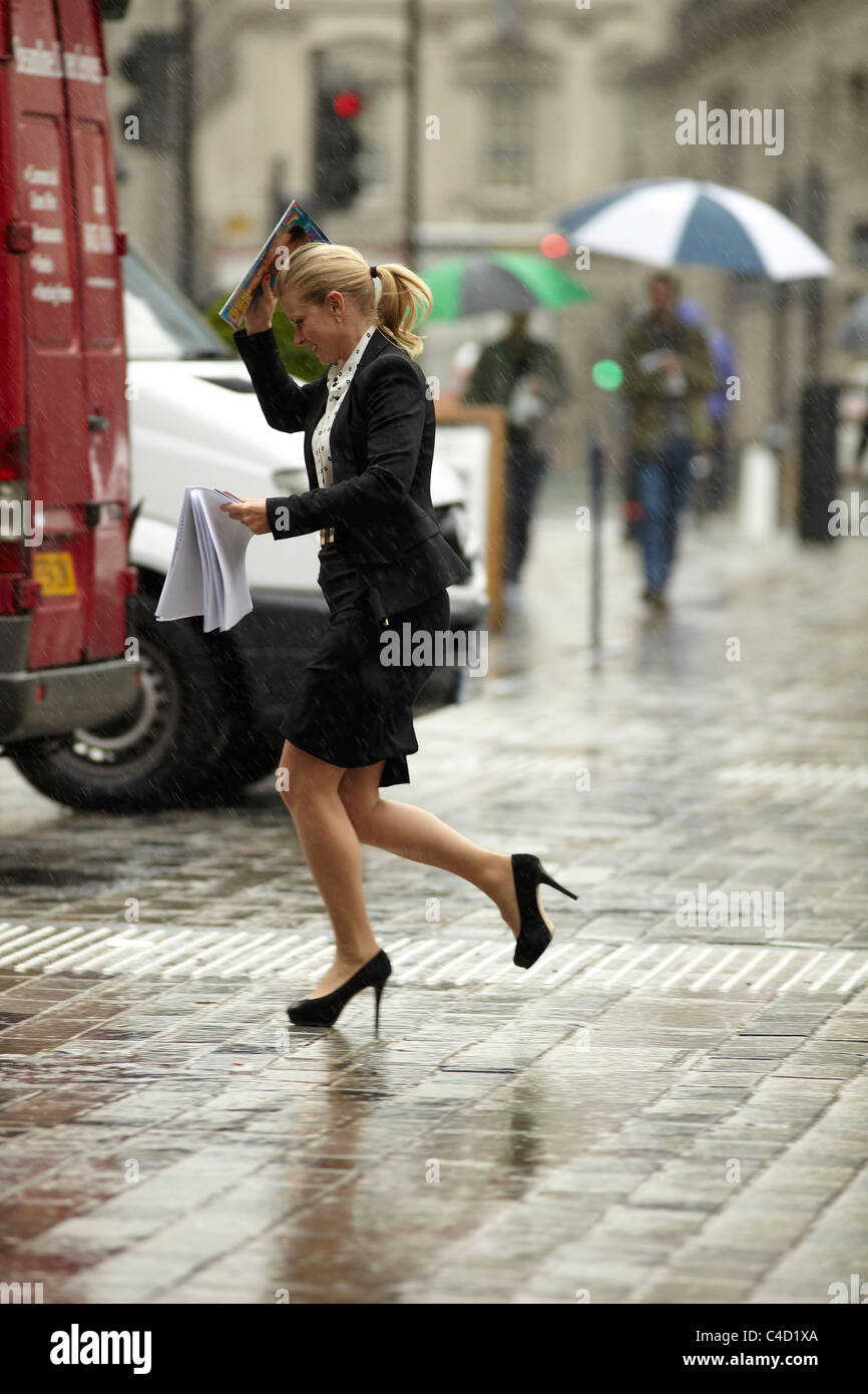 High Heels In Rain High Resolution
