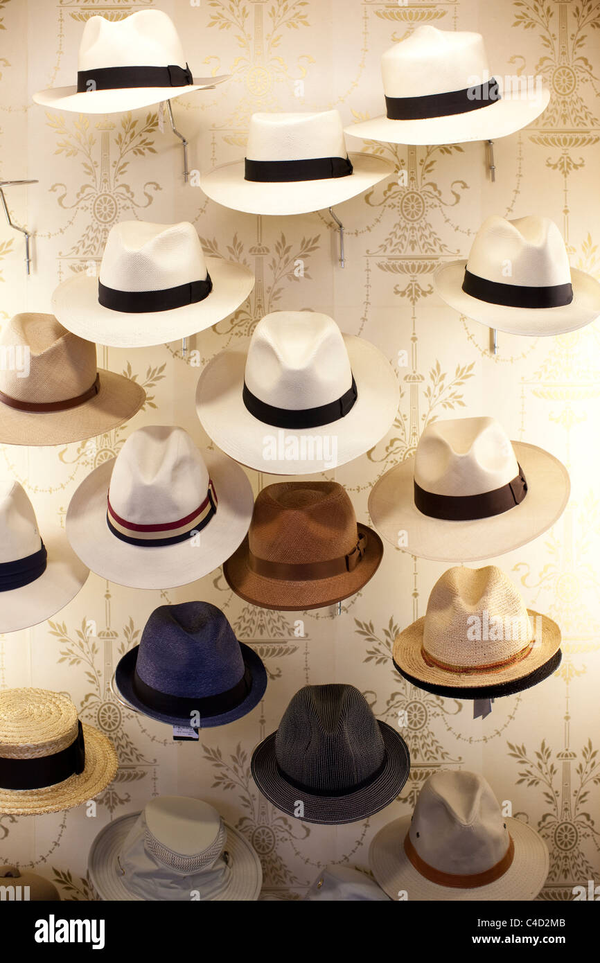 Panama hats at Lock   Co hatters 27a584740494