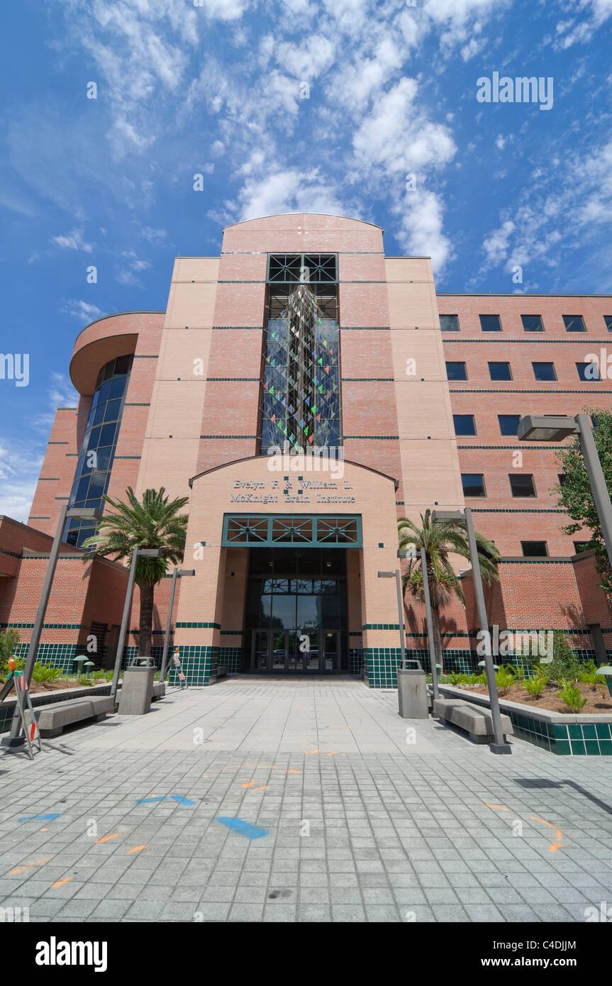 McKnight Brain Institute on the University of Florida Campus Gainesville Florida - Stock Image