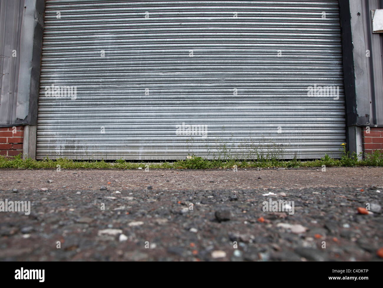 Vacant business premises in Nottingham, England, U.K. - Stock Image