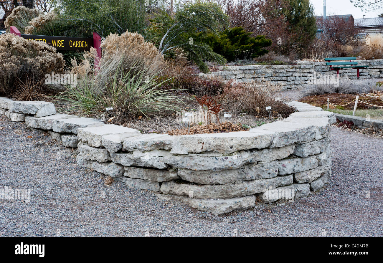 Water Wise Garden In Missoula, Montana Is A Demonstration Project Of The  Practicality And Attractiveness Of Xeriscaping.