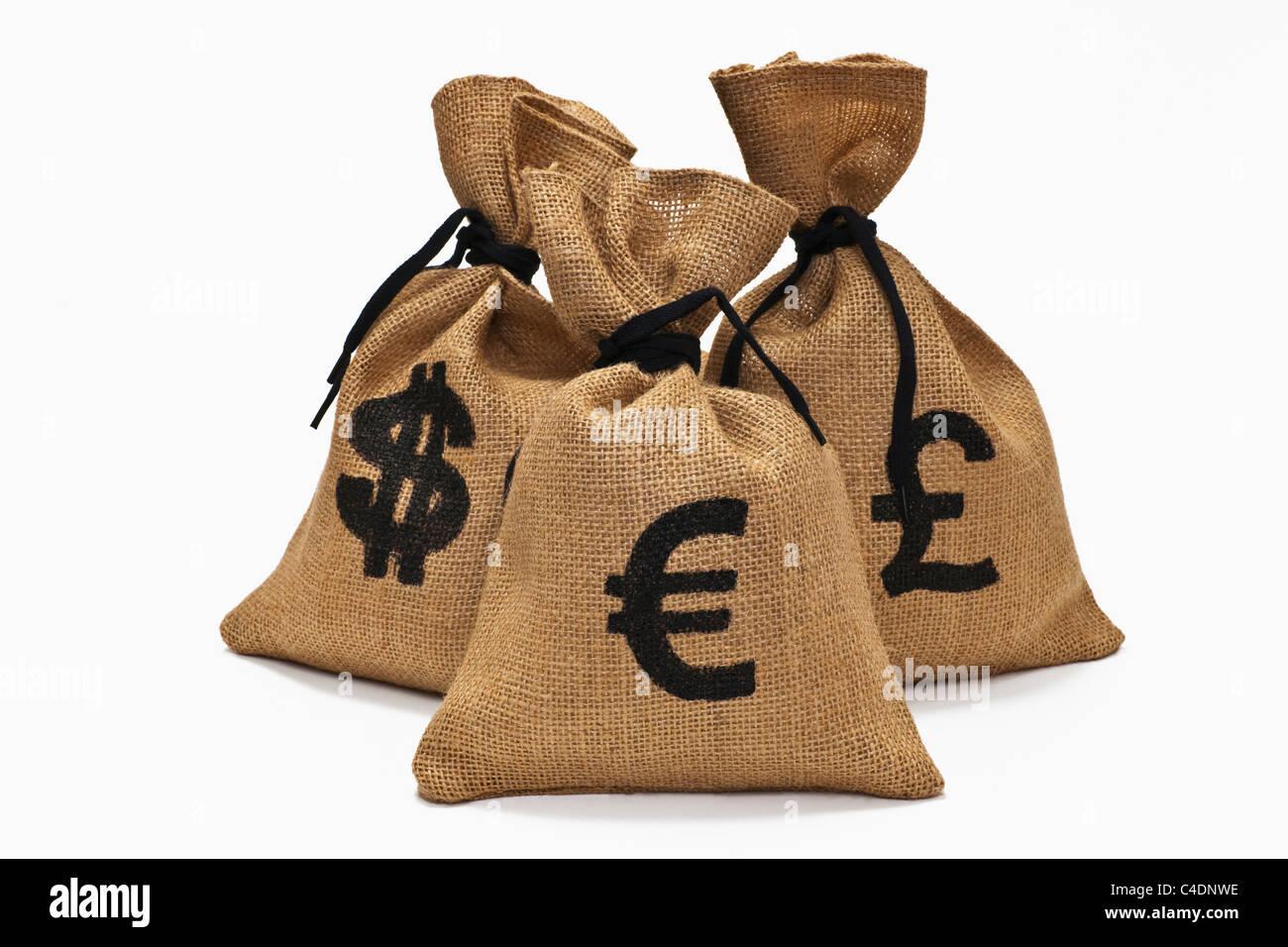 verschiedene Währungen | different currencies - Stock Image