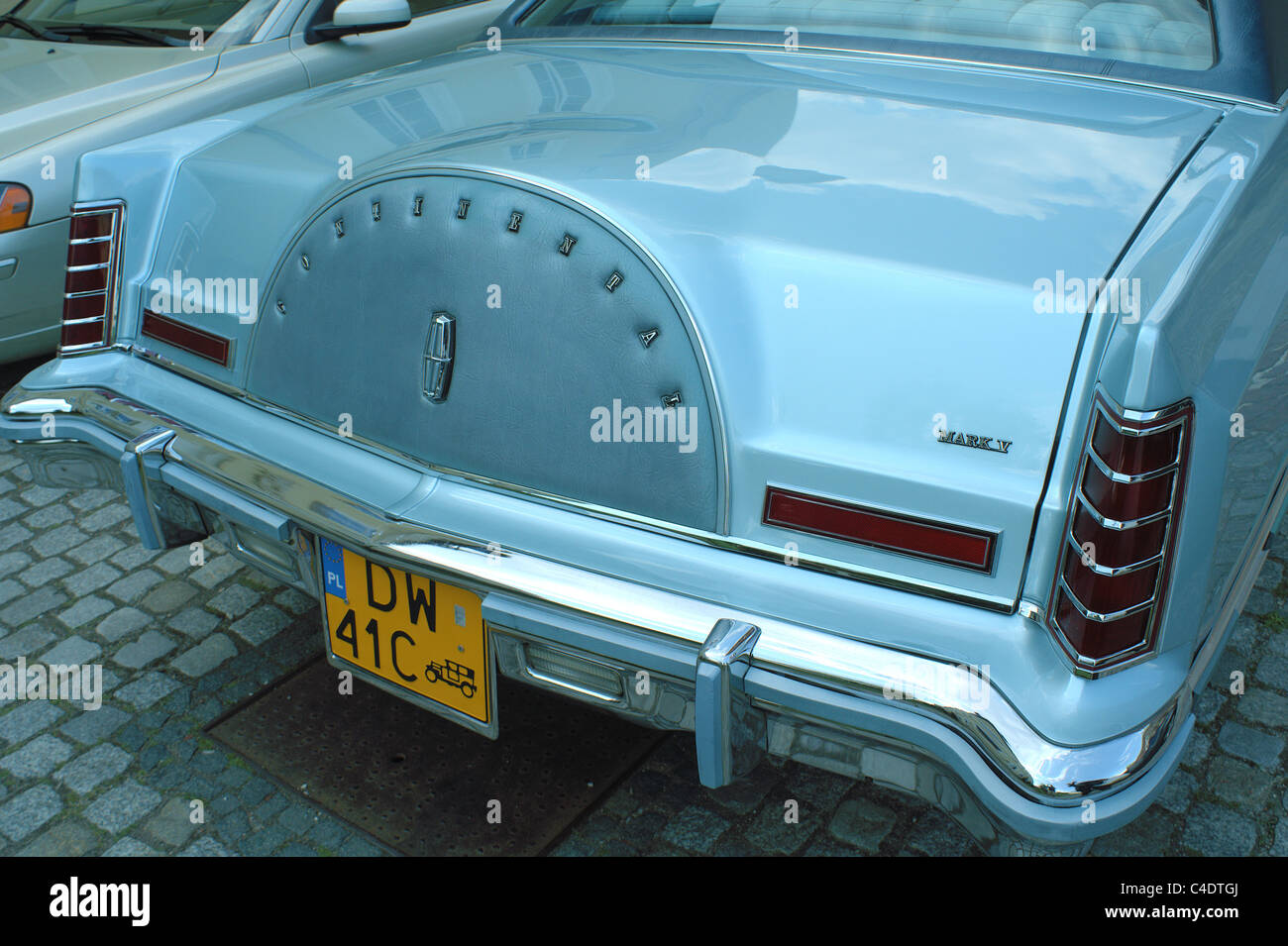 Lincoln Continental Mk V Vintage Luxury Car Stock Photo 37184018