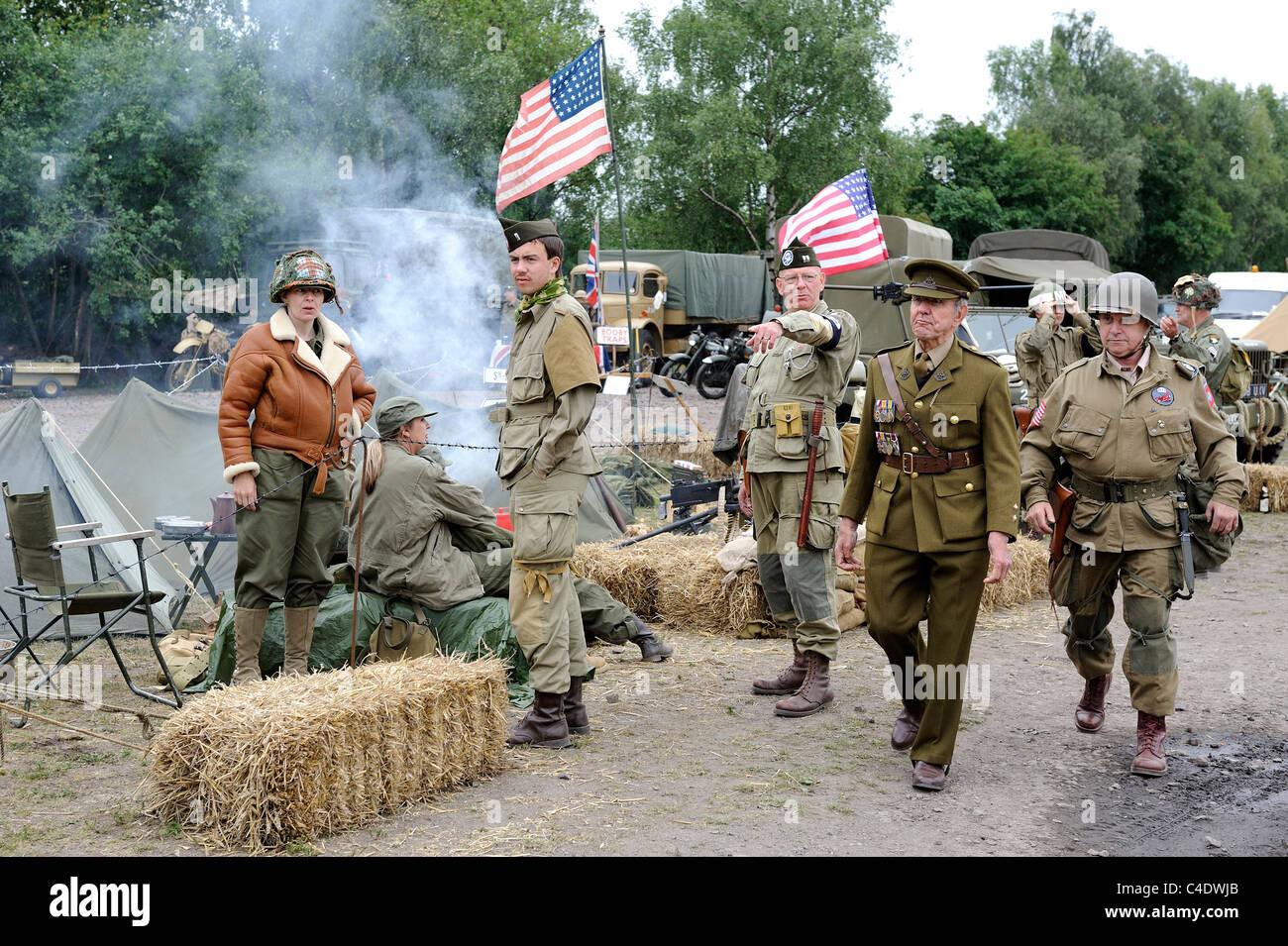 British Army Reenactment Stock Photos & British Army