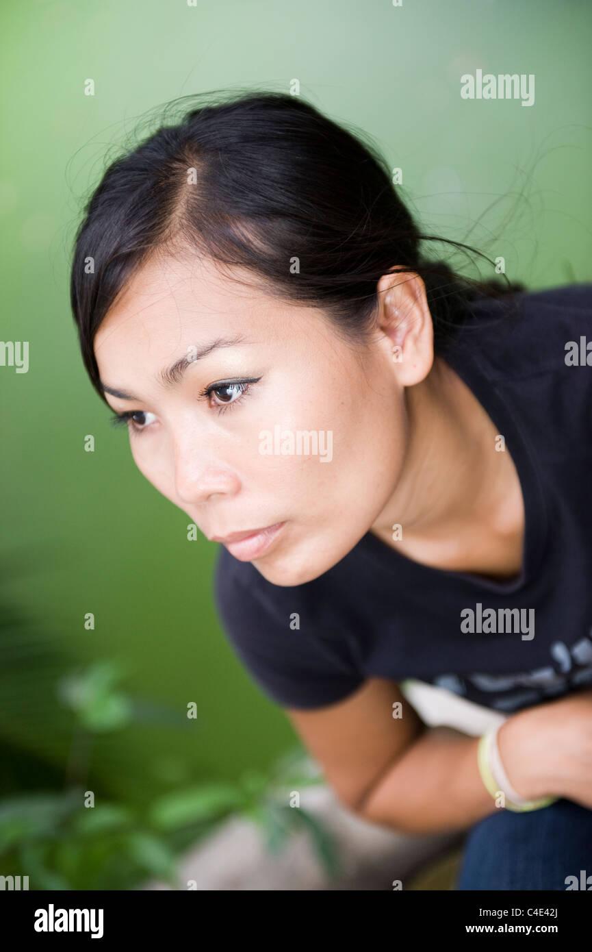Thai Woman Resting Stock Photos Amp Thai Woman Resting Stock