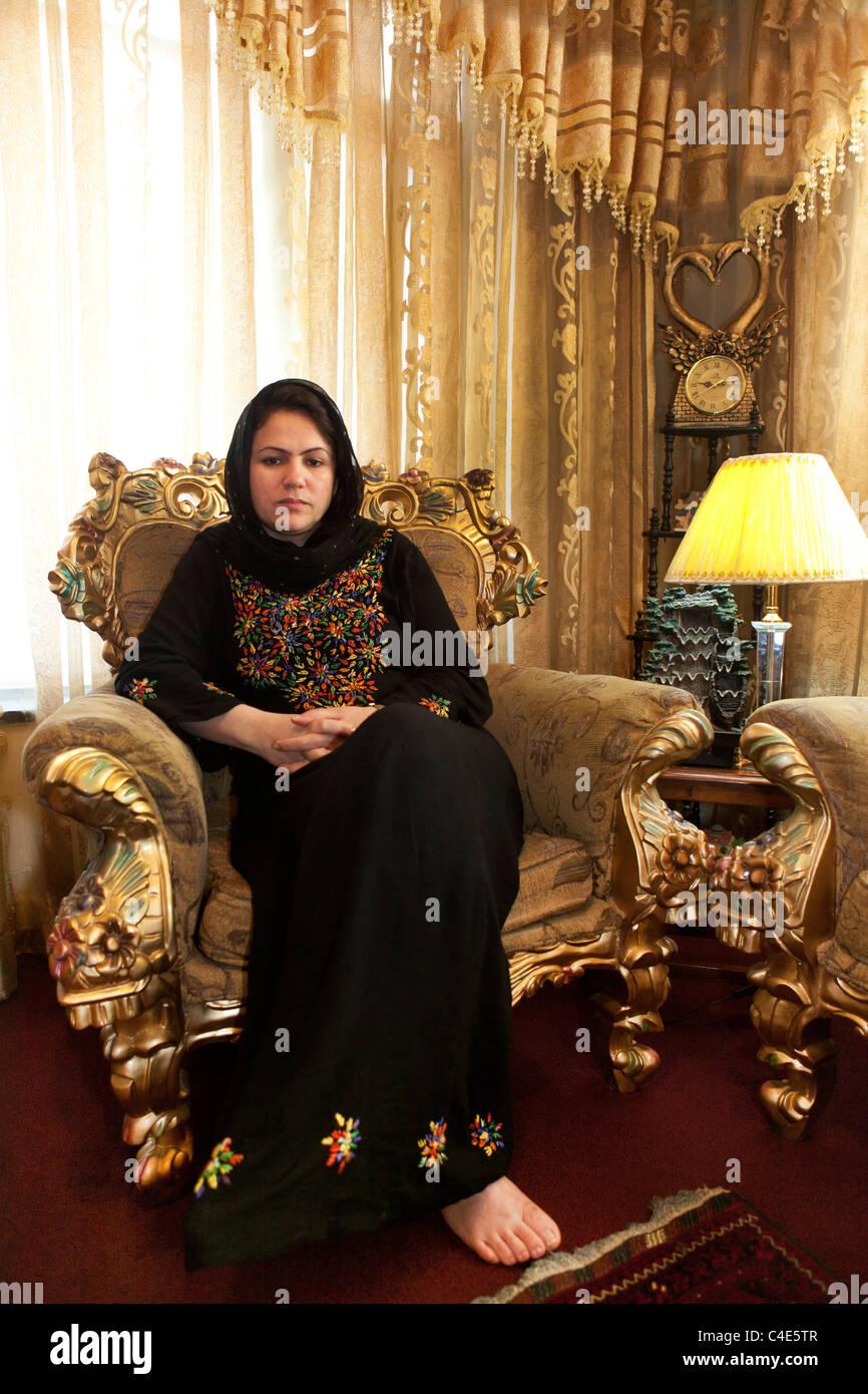 Fawzia Koofi, member of parliament in Afghanistan - Stock Image