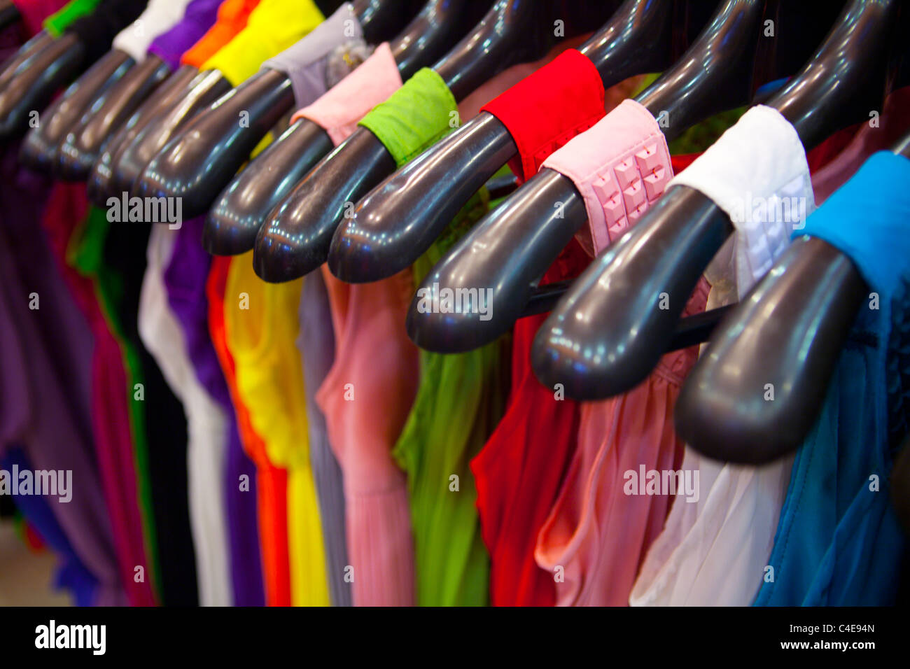 modern shop in Lahore - Stock Image