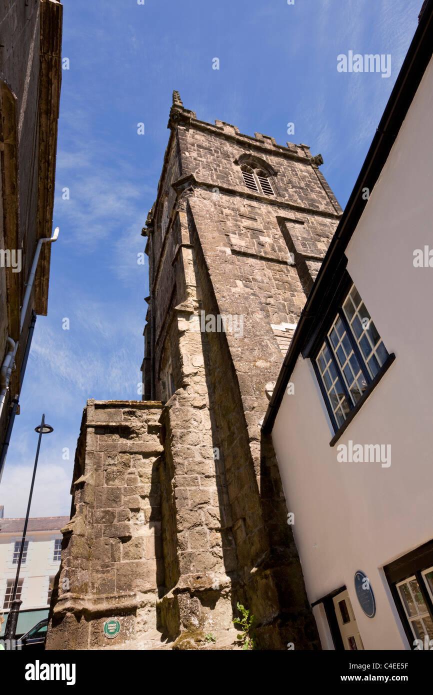 St Peters Church, Shaftesbury, Dorset, England, UK - Stock Image