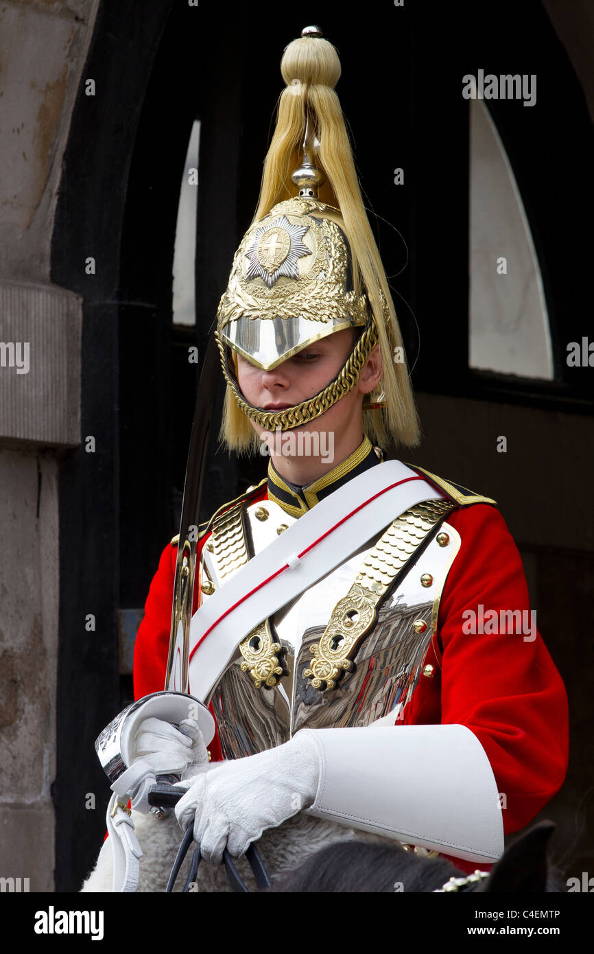 horse guards - Stock Image