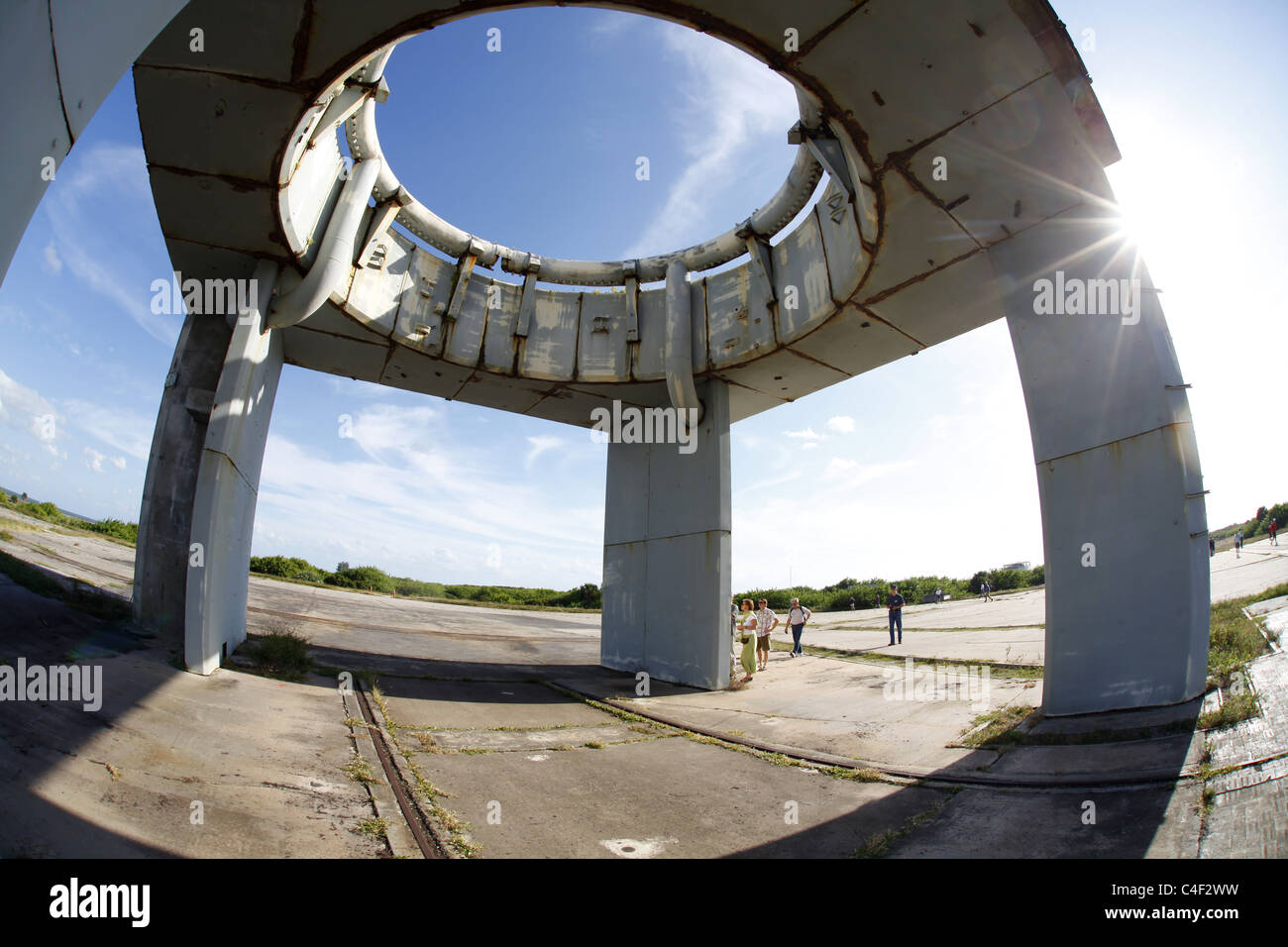 The Launch Pad 34 where  all three crew members of Apollo 1 perished Virgil 'Gus' Grissom,  Edward H. White - Stock Image
