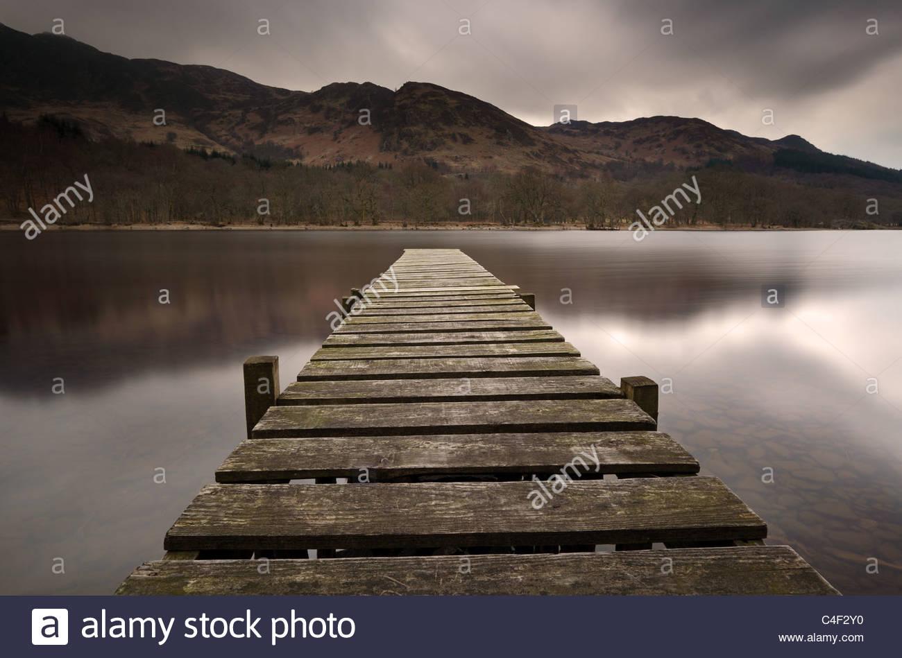 Loch Earn - Stock Image