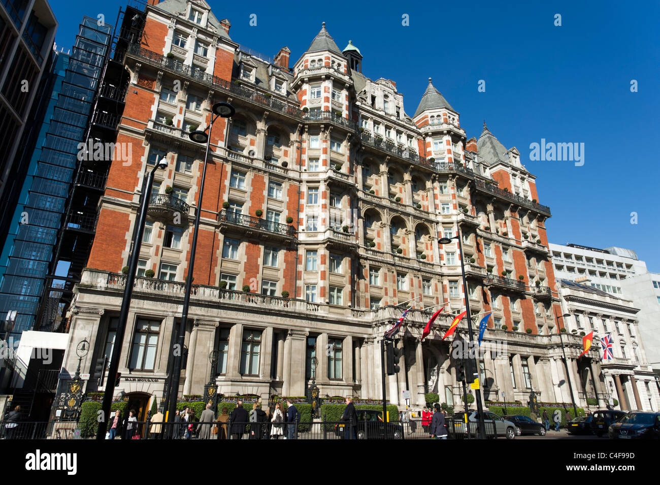 The Mandarin Oriental Hotel, Knightsbridge, London, UK - Stock Image