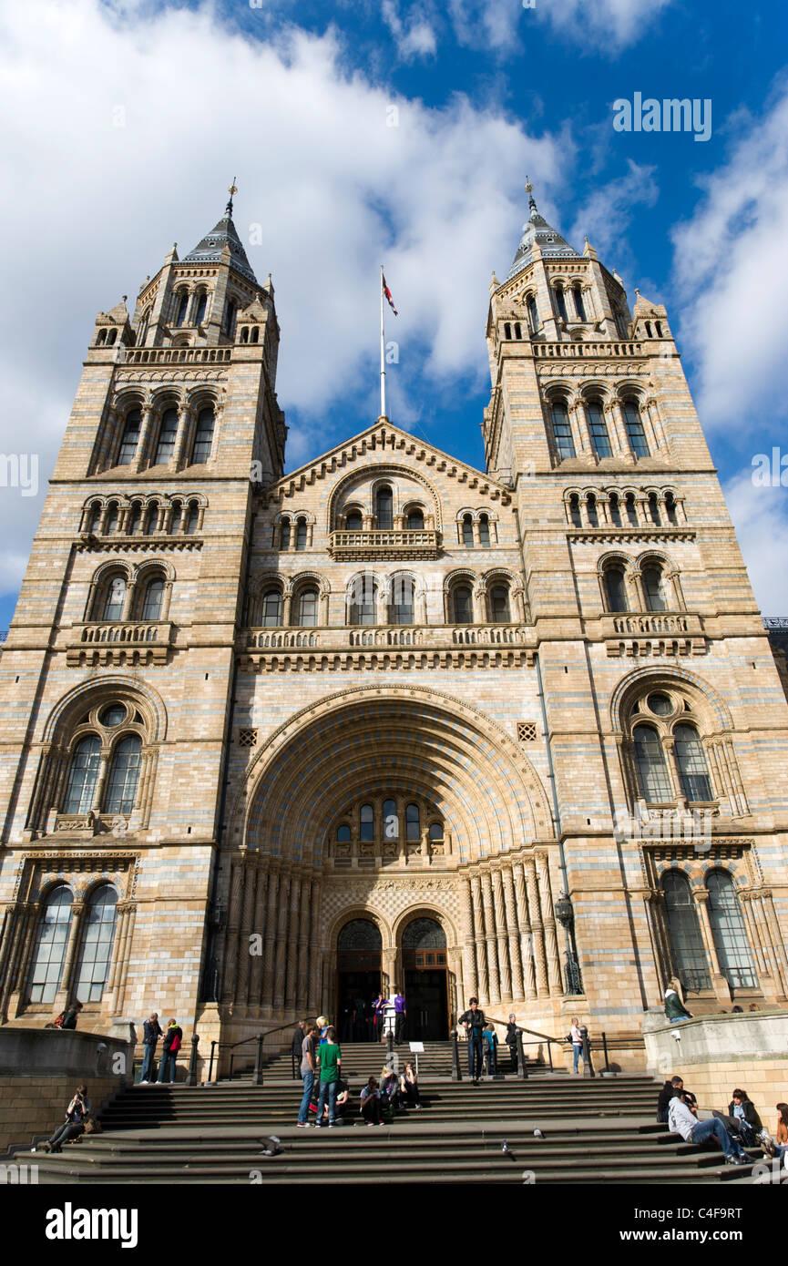 Natural History Museum, London, UK - Stock Image