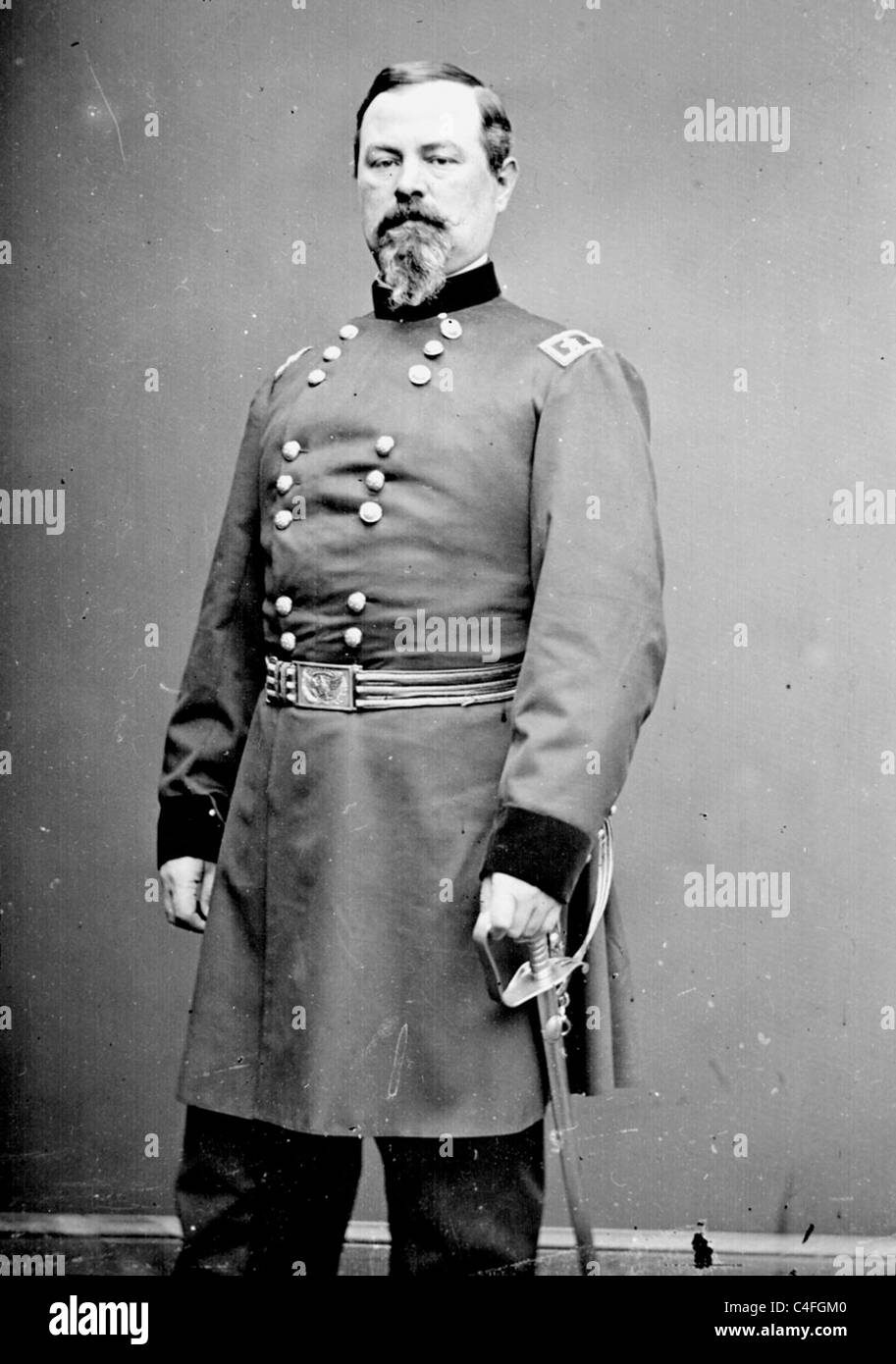 Irvin McDowell, General during the American Civil War - Stock Image