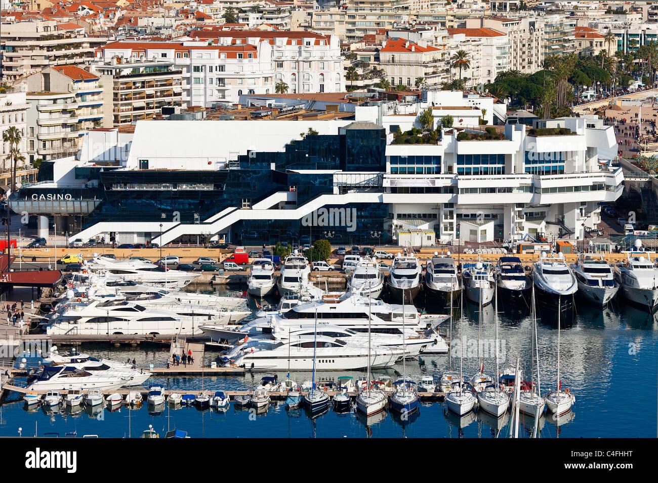 Cannes, Palais du Festival - Stock Image