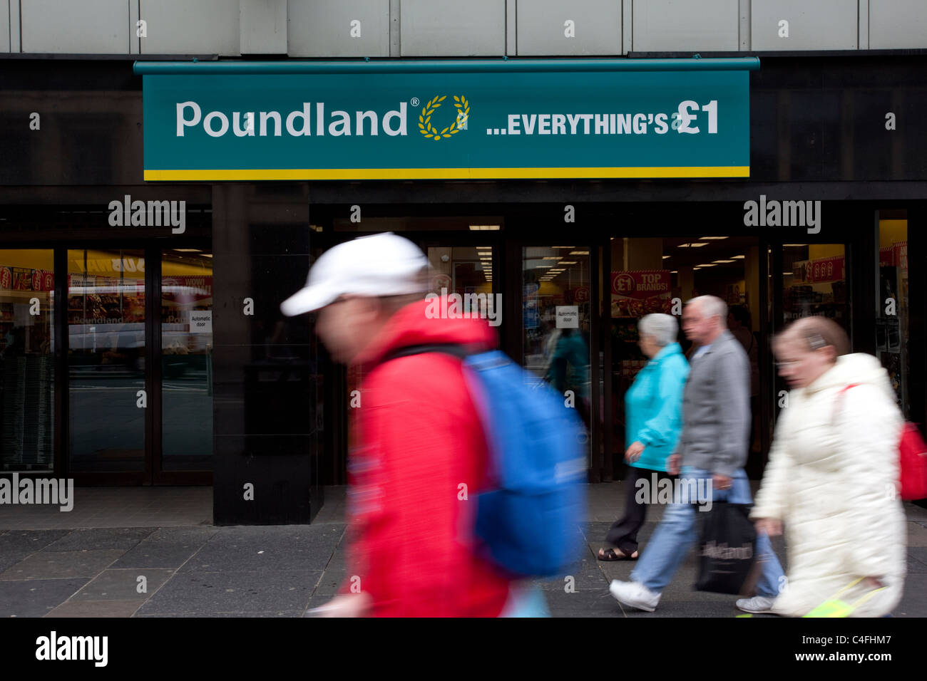 Poundland British based variety store chain which sells every item in its stores for £1.Photo:Jeff Gilbert - Stock Image