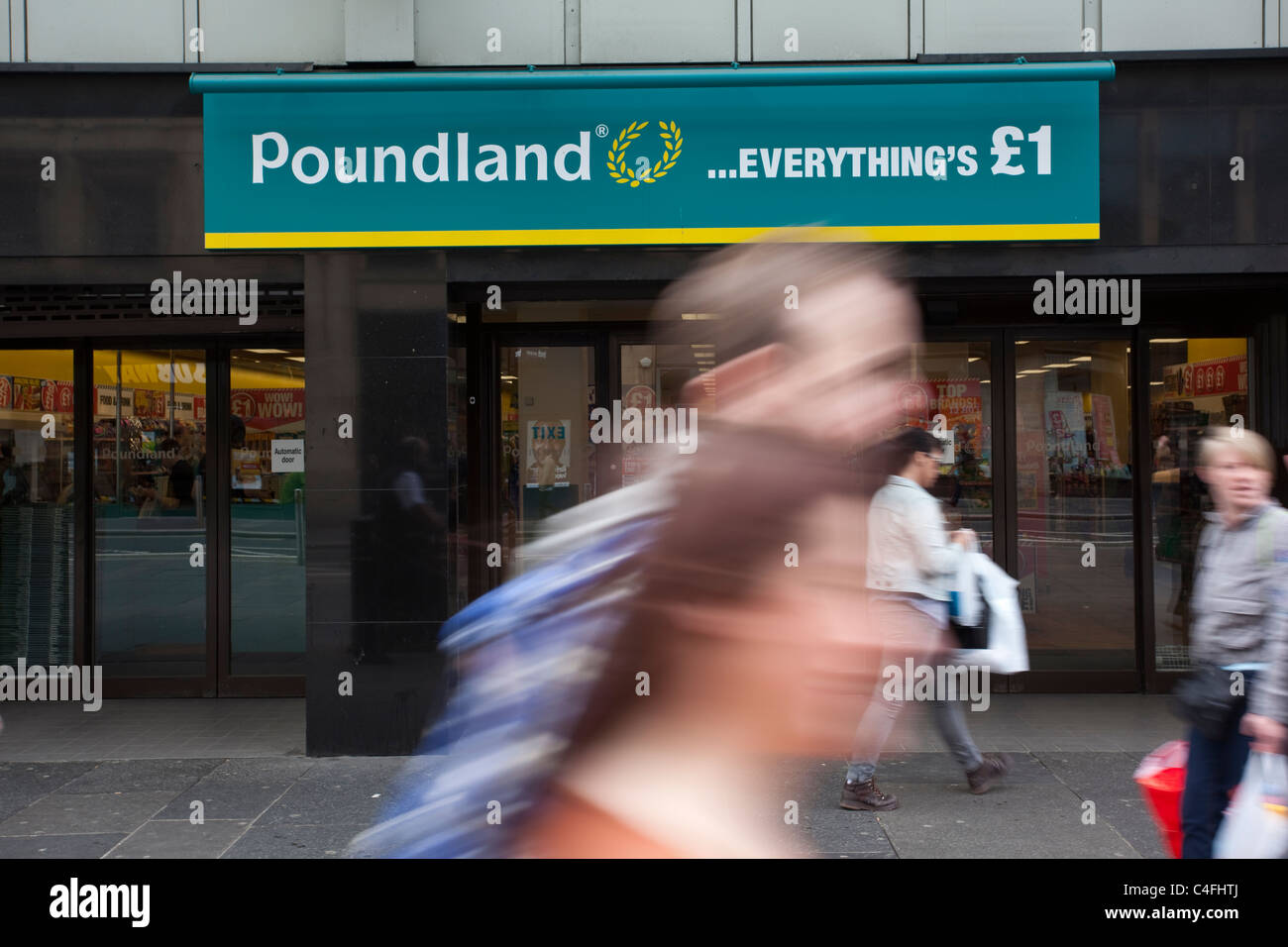 Poundland British based variety store chain selling every item in its stores for £1.Photo:Jeff Gilbert - Stock Image