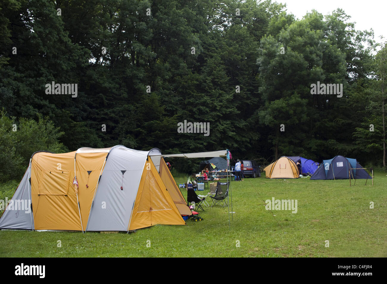 Camping - Stock Image