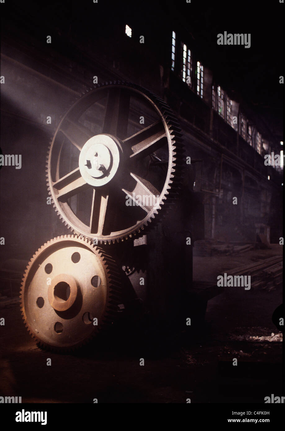Gears - Stock Image