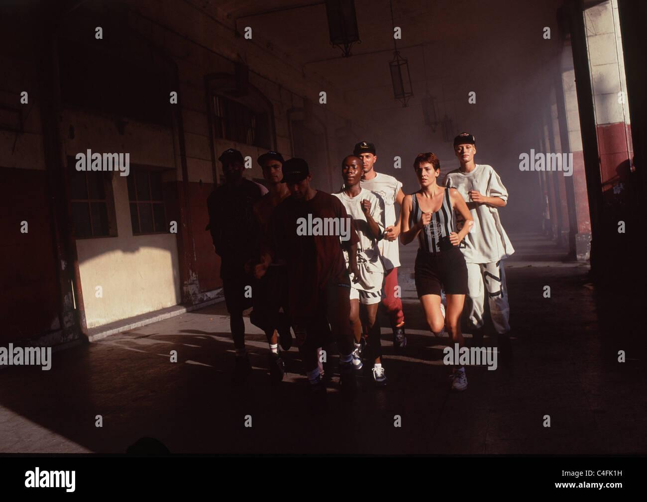 runners - Stock Image