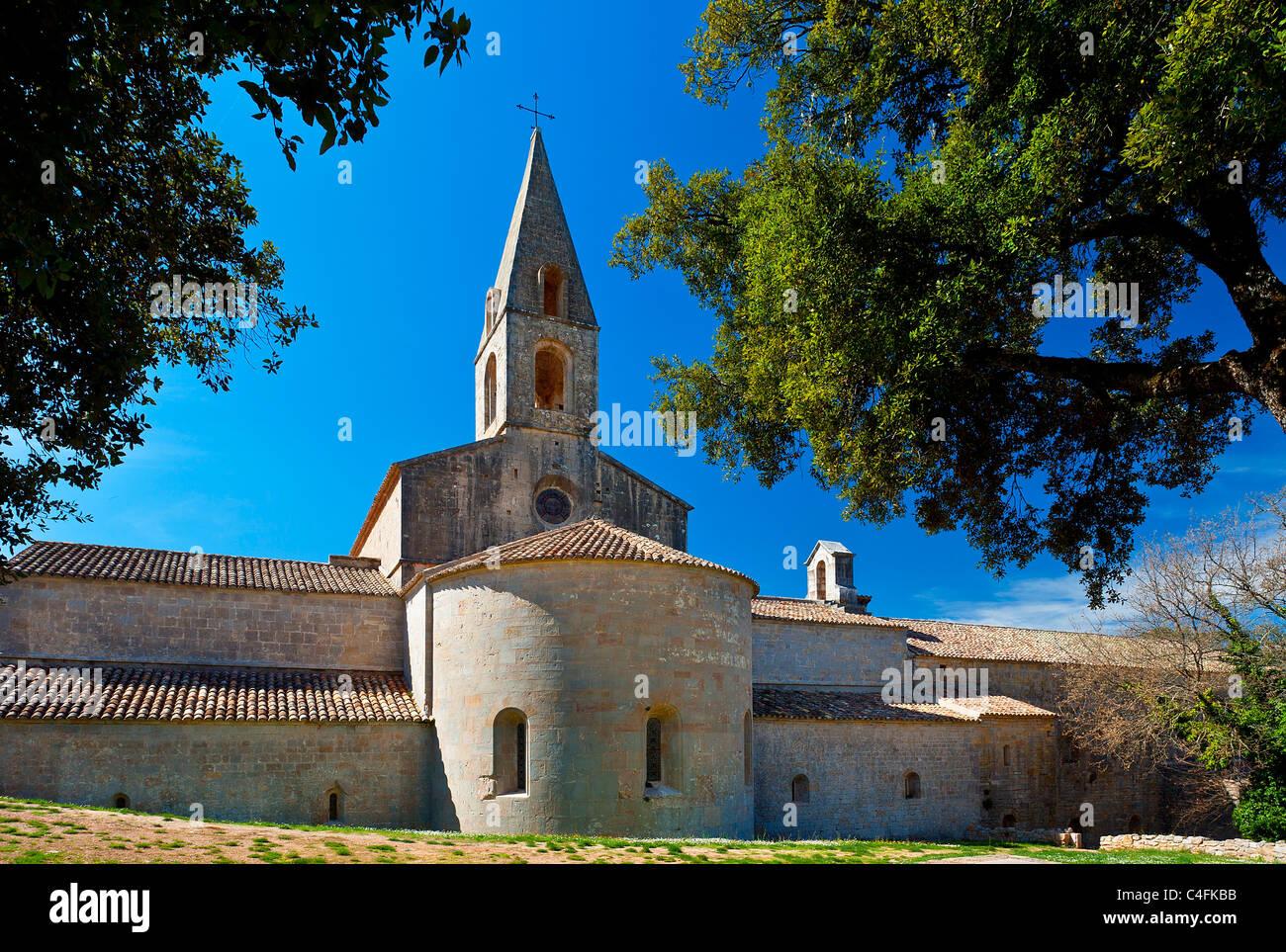 France, Var (83), Le Thoronet cistercian Abbey Stock Photo