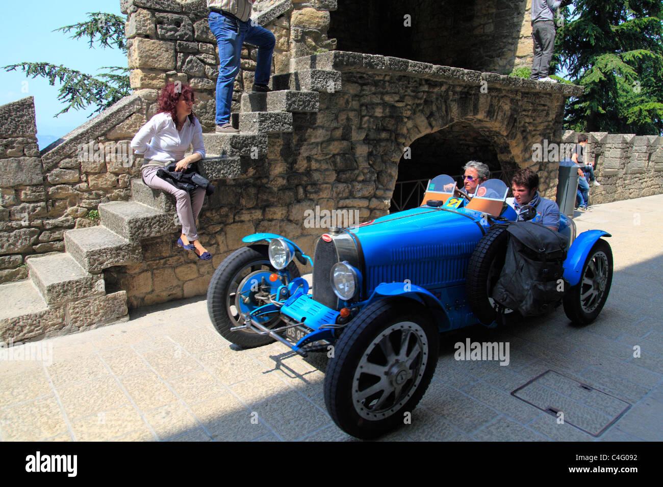 Mille Miglia 2011, Bugatti Type 37 A 1927   Stock Image
