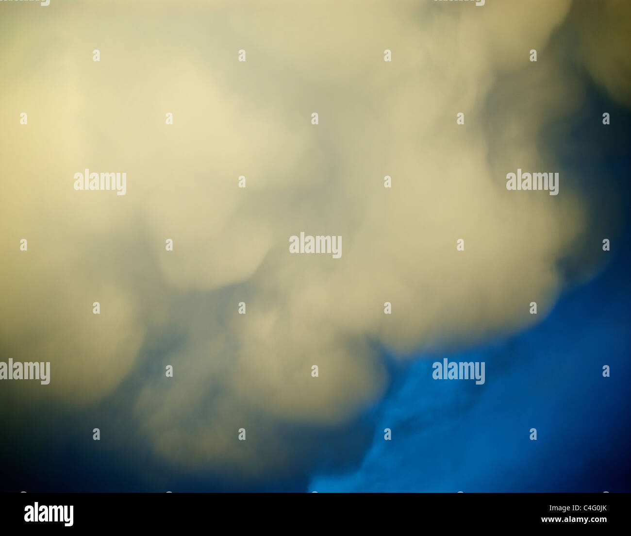 VOLCANIC ASH CLOUD - Stock Image
