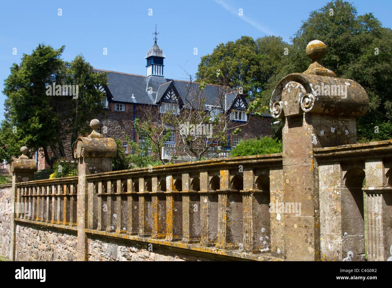 Halsway Manor   Somerset manor house Crowcombe,Taunton, Somerset Stock Photo