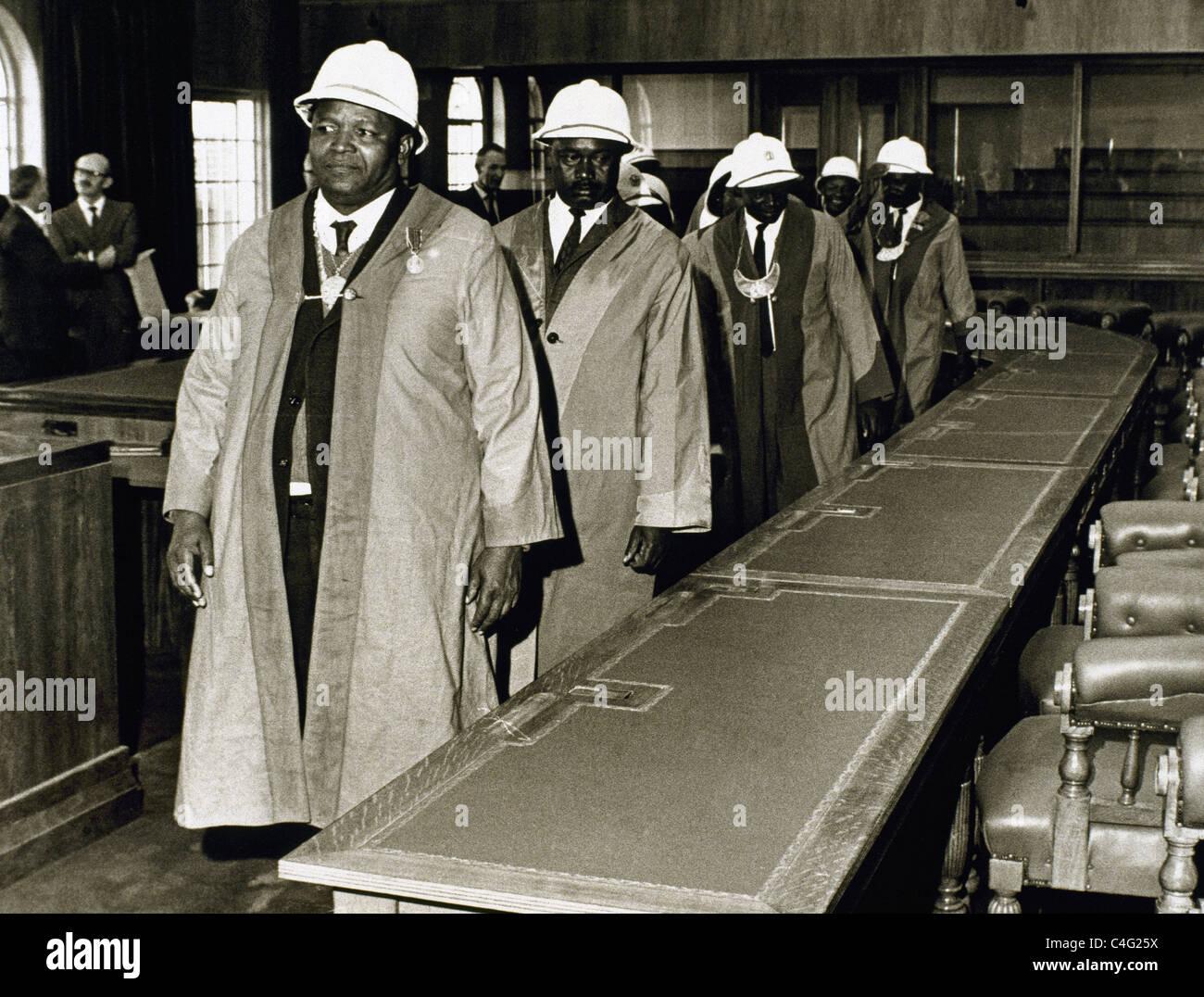 Rhodesia (May 7, 1970). Election of senators. - Stock Image