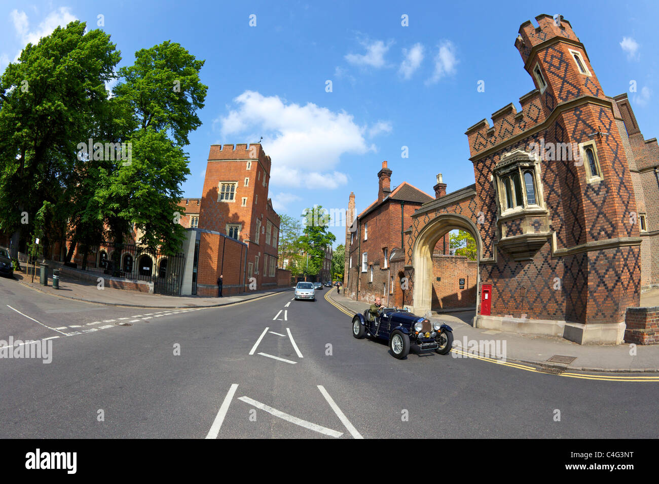 Eton College, Eton School, Berkshire, England, UK, United Kingdom, GB, Great Britain, British Isles, Europe - Stock Image