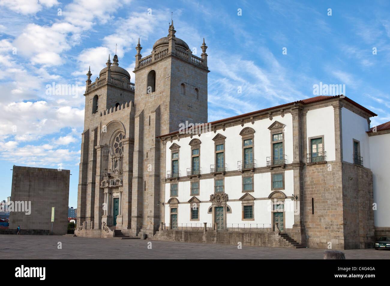 Se Cathedral, Porto, Oporto, portugal - Stock Image