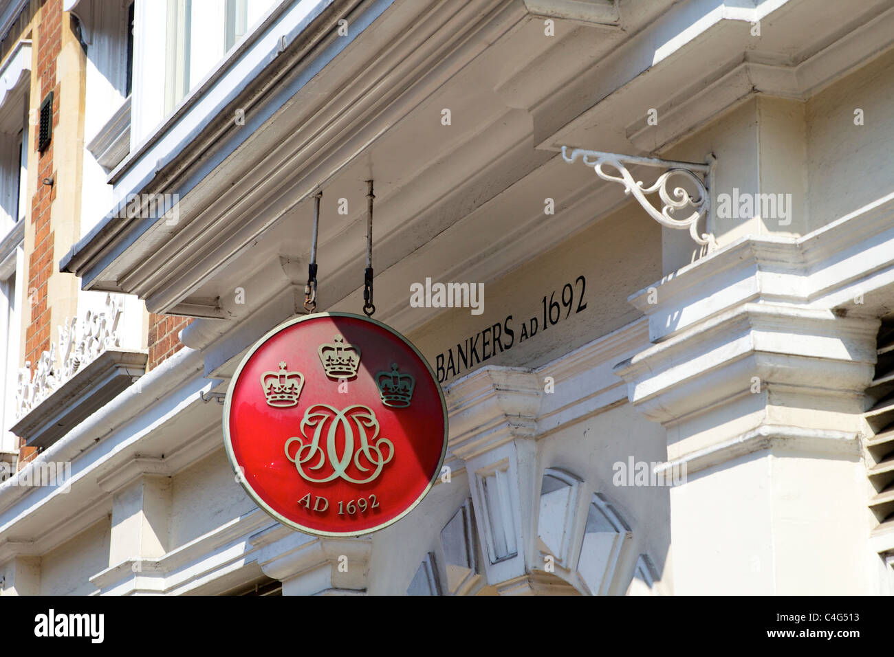 Coutts & Co Bankers High Street Eton Berkshire England - Stock Image
