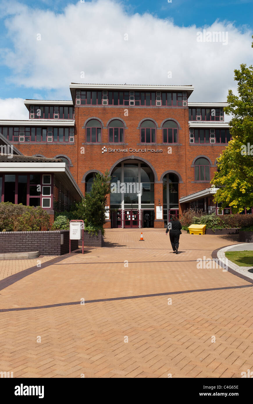 Sandwell Council House, Oldbury, West Midlands - Stock Image