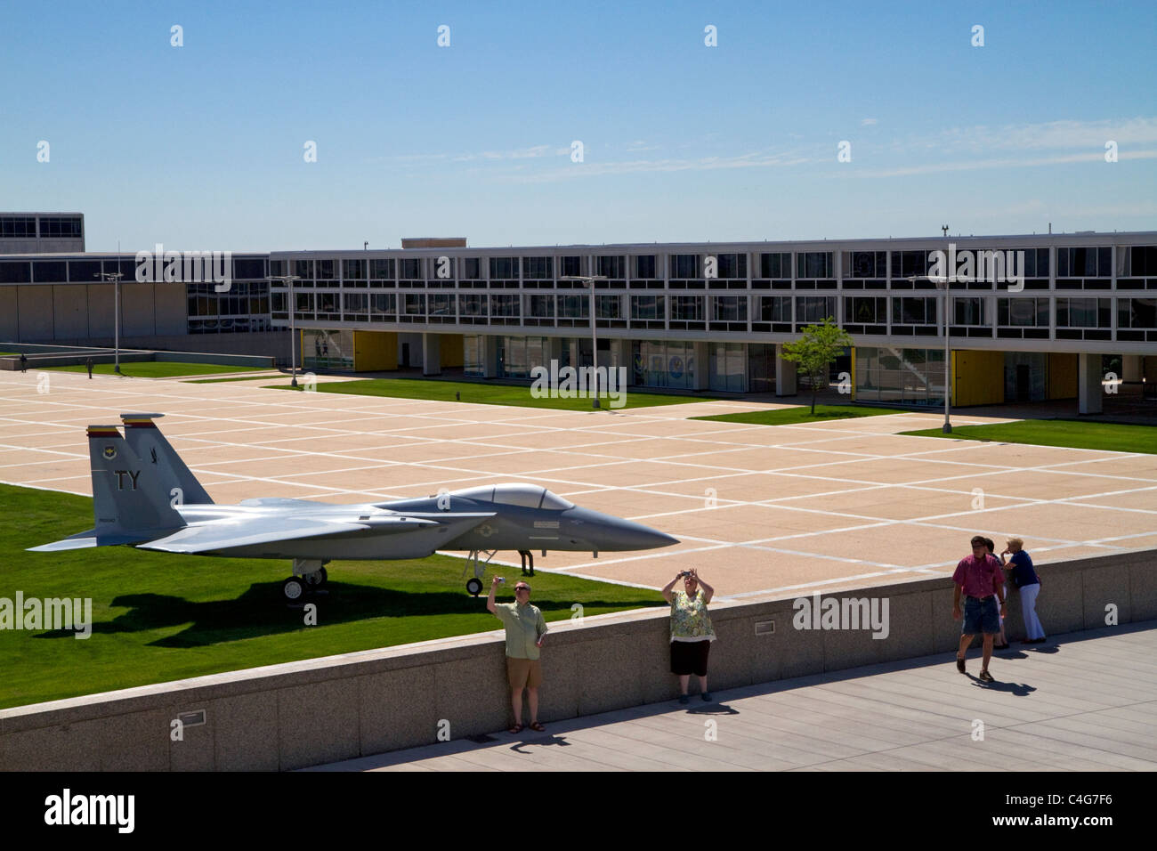 Air Force Academy in Colorado Springs, Colorado, USA. - Stock Image