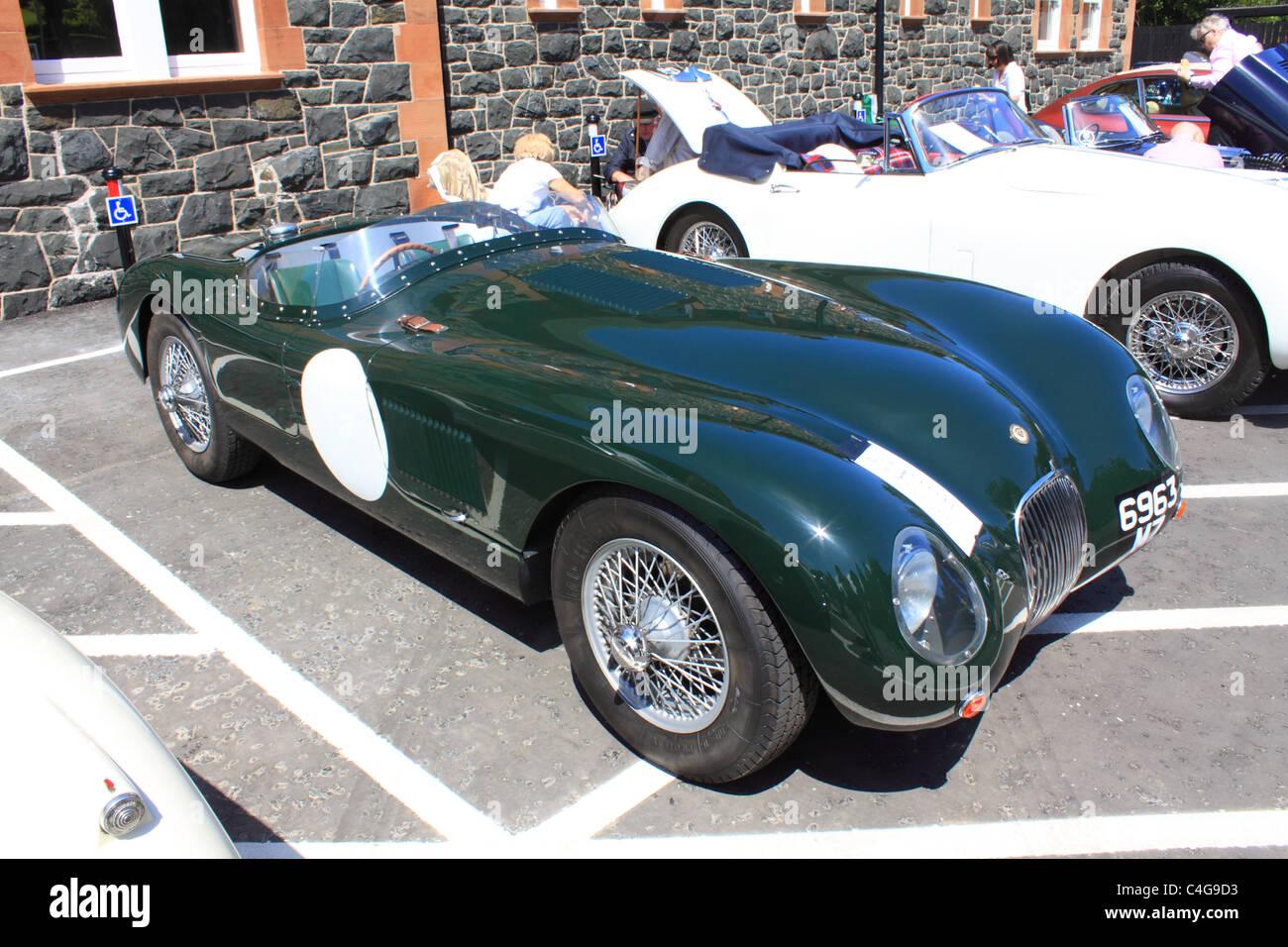Jaguar C-type replica at the 2011 Cultra Hillclimb Event