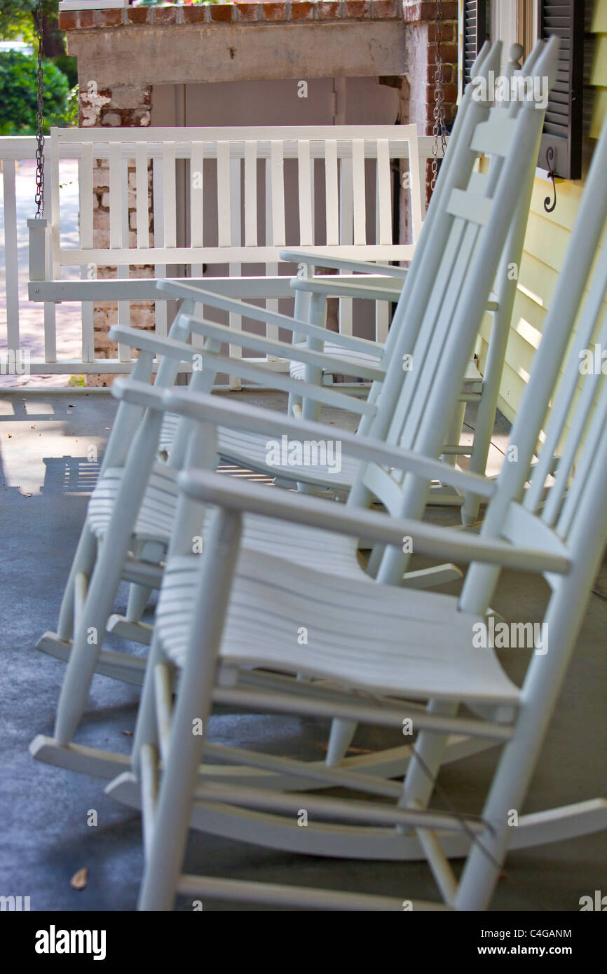 Cool Old Rocking Chair On Porch Stock Photos Old Rocking Chair Gmtry Best Dining Table And Chair Ideas Images Gmtryco