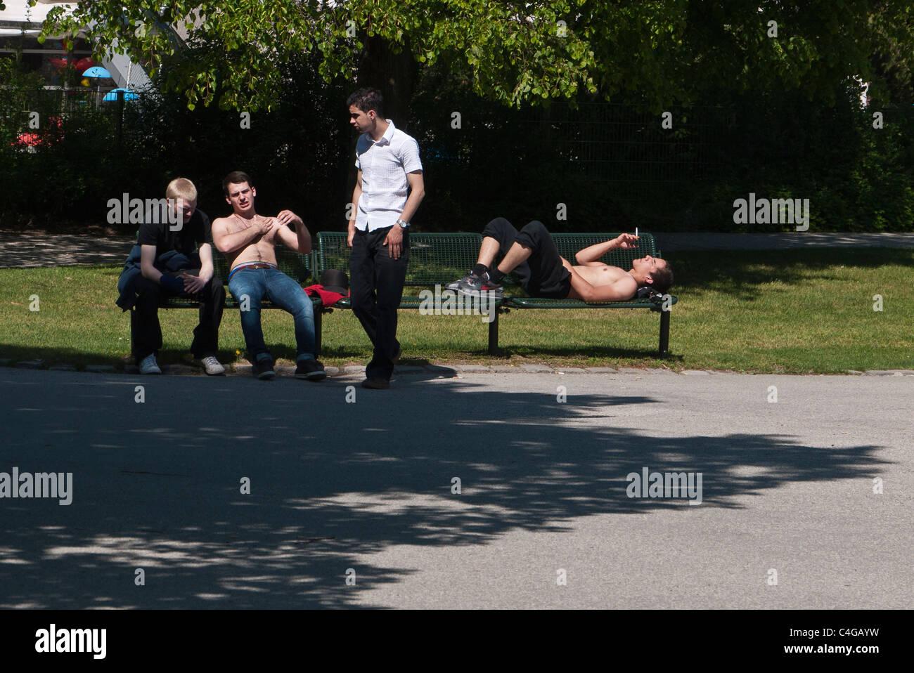 Nackt park