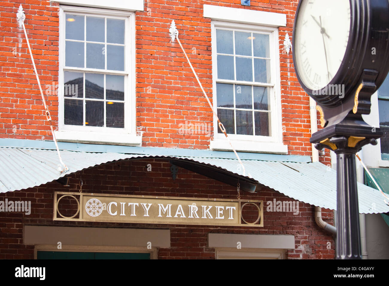 City Market, Savannah, Georgia - Stock Image