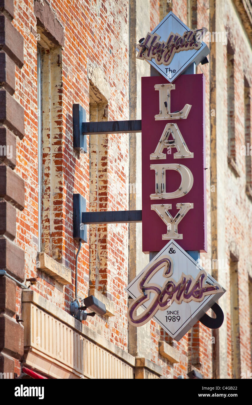 Paula Deen's The Lady and Sons Restaurant - Savannah, Georgia Stock Photo
