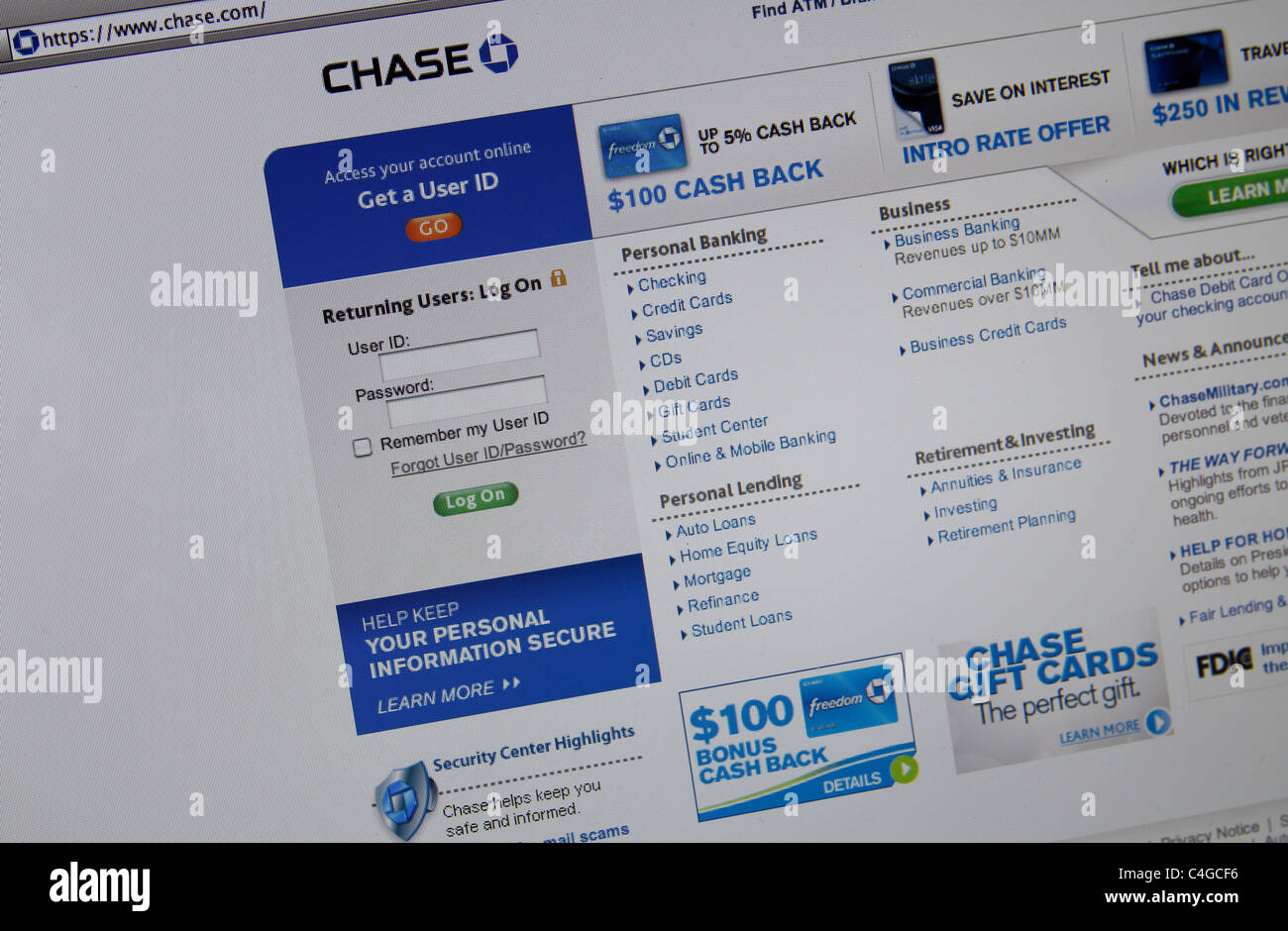 Chase Bank Card Stock Photos & Chase Bank Card Stock Images - Alamy