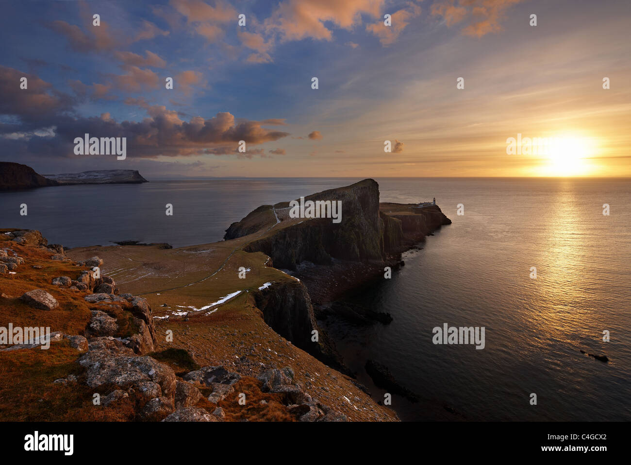 Neist Point, Isle of Skye, Scotland - Stock Image