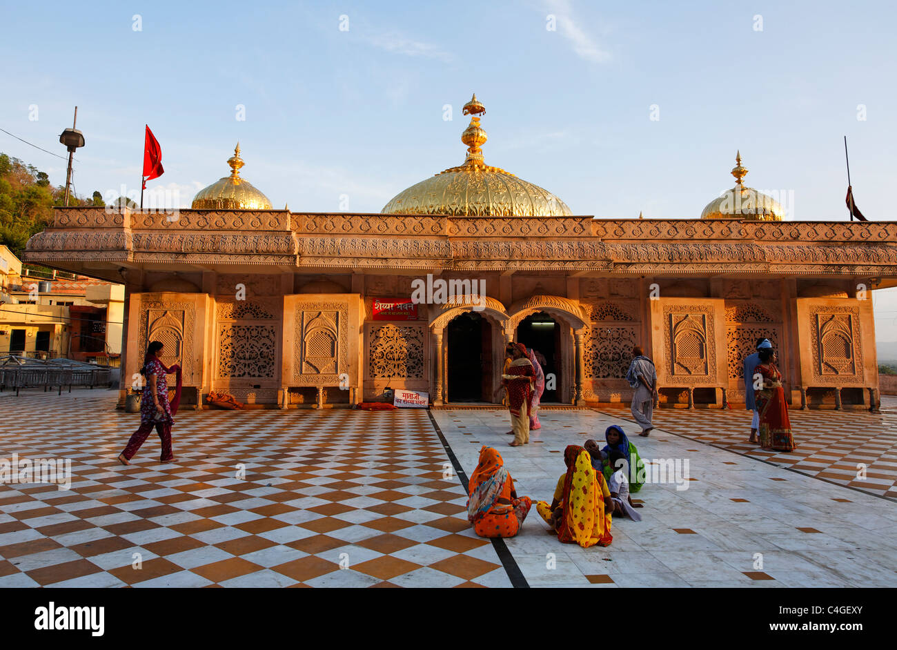 India - Himachal Pradesh - Jawalamukhi - Hindu shrine - Stock Image