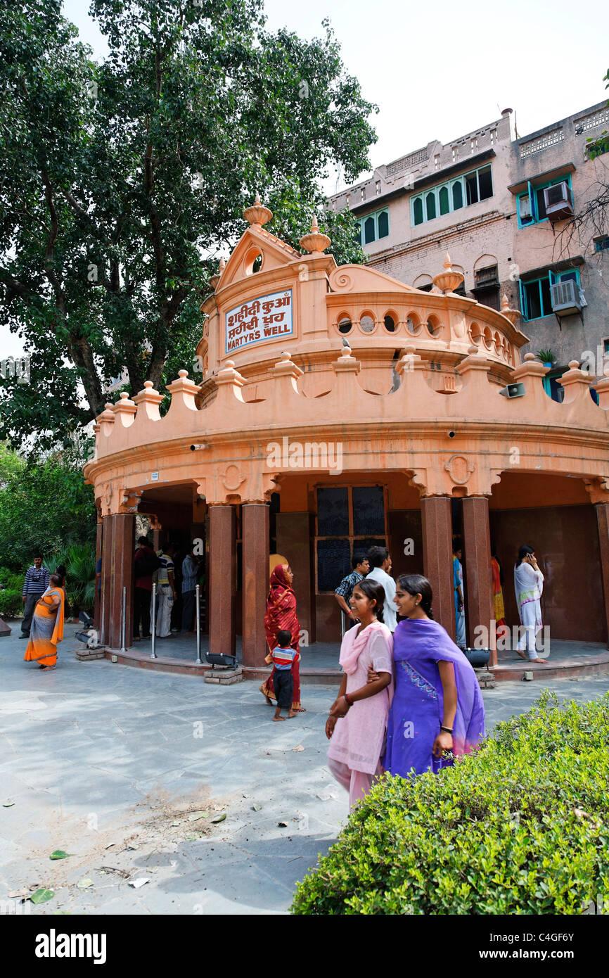 India - Amritsar - Jallianwalla Bagh - Martyr's Well - Stock Image