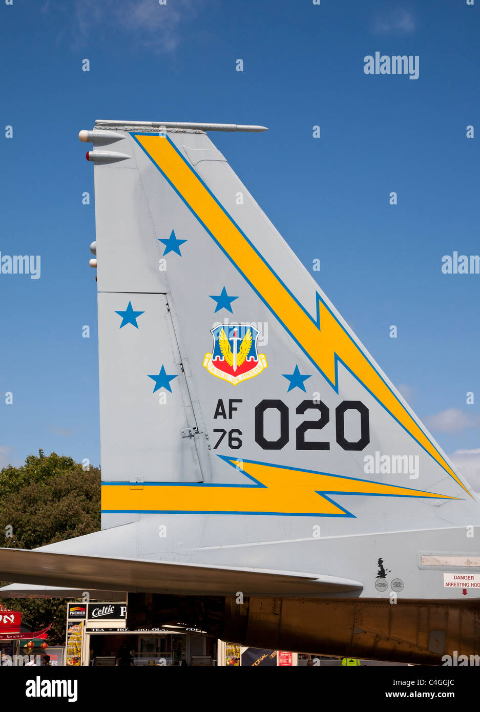 US Air Force F-15 Eagle - Stock Image